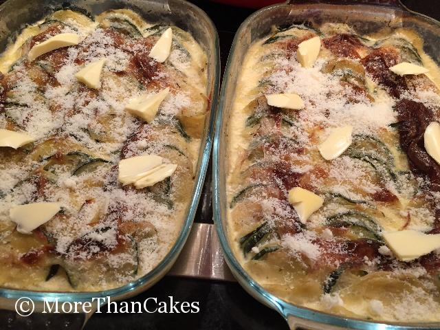 Zucchini-Kartoffel-Gratin